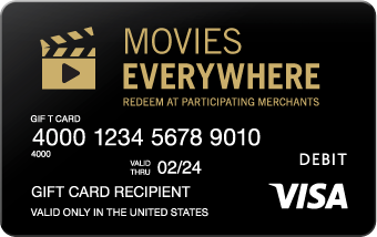 Visa movies card